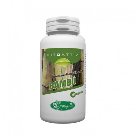 Bambu integratore naturale per il benessere di capelli e unghie.