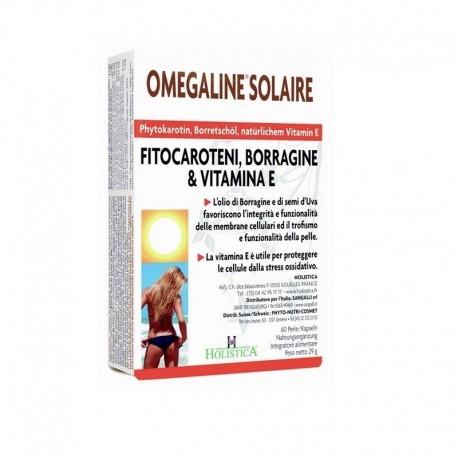Omegaline Solaire integratore naturale che stimola la produzione di melanina