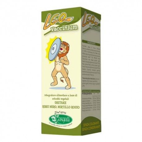 Leo Vaccinium integratore alimentare per bambini