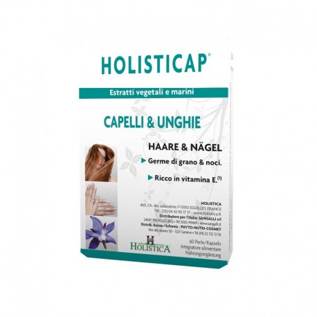 Holisticap integratore alimentare per capelli e unghie
