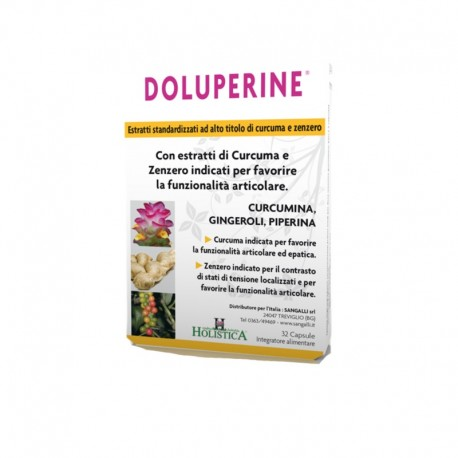 Doluperine - 32 Capsule integratore alimentare per ossa e articolazioni